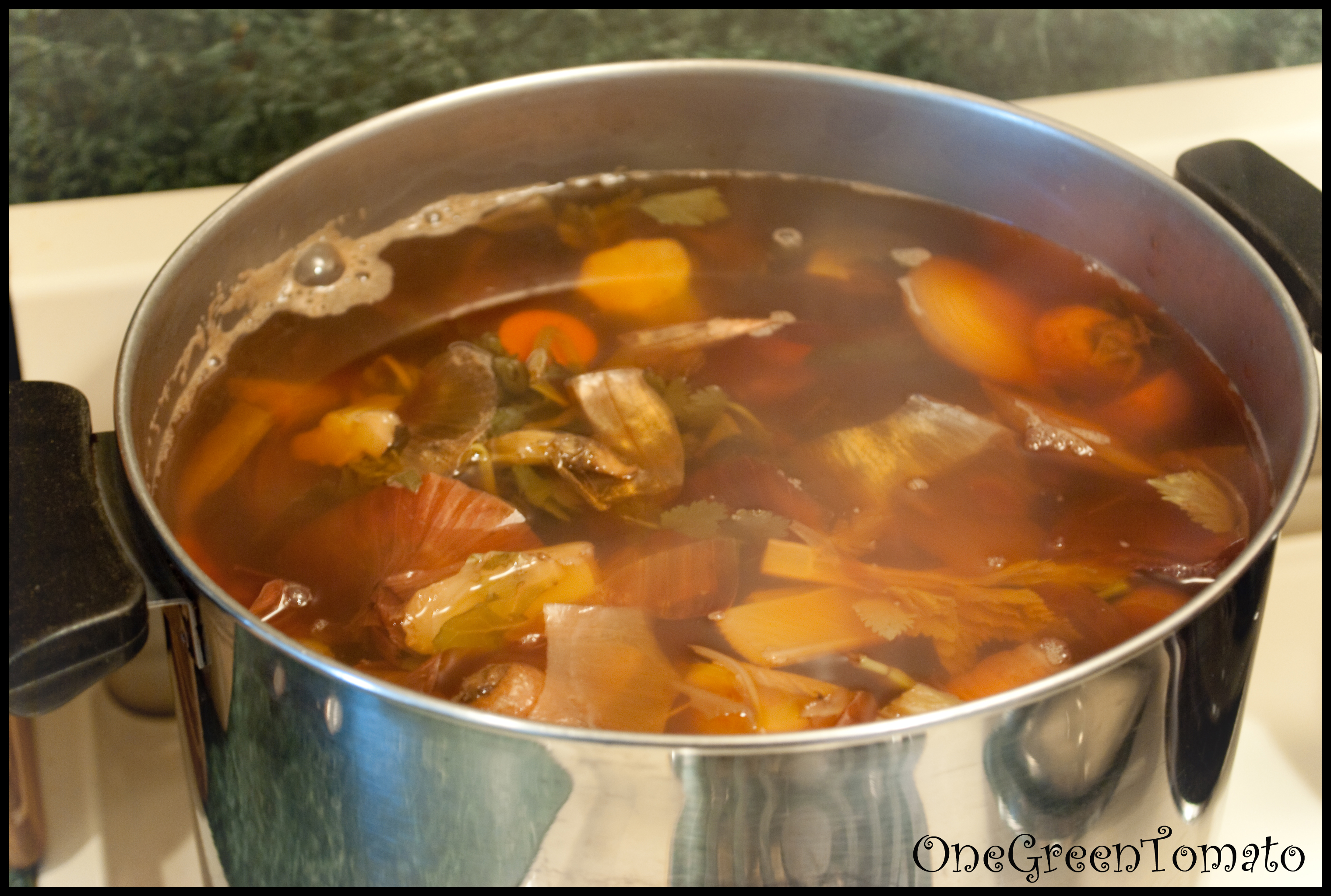 Vegetable Stock | One Green Tomato