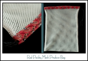 Red Paisley GA Bag banner